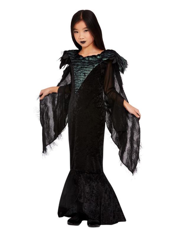 Deluxe Raven Princess Kinderkostuum