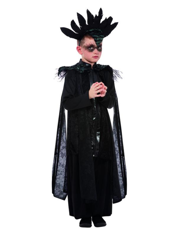 Deluxe Raven Prince Kinderkostuum