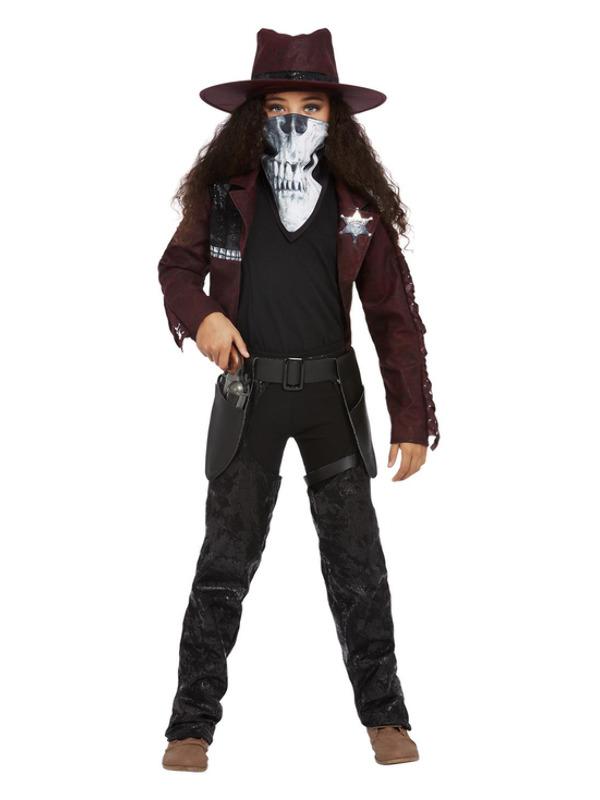 Deluxe Dark Spirit Western Cowgirl Kinderkostuum
