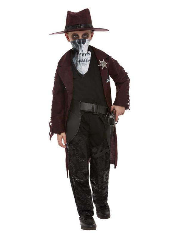 Deluxe Dark Spirit Western Cowboy Kinderkostuum