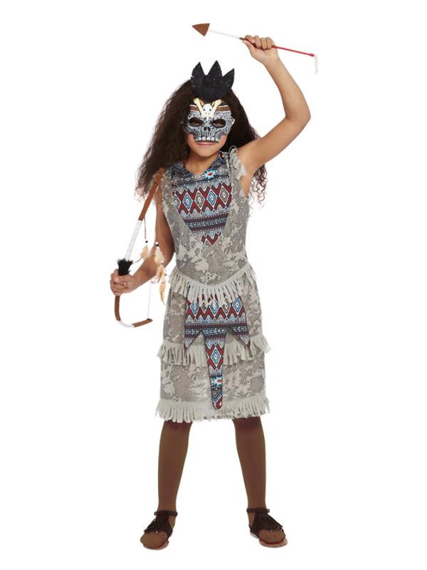 Dark Spirit Warrior Girl Kinderkostuum