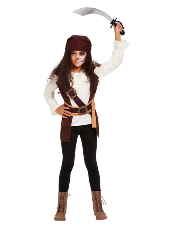 Dark Spirit Pirate Girl Kinderkostuum