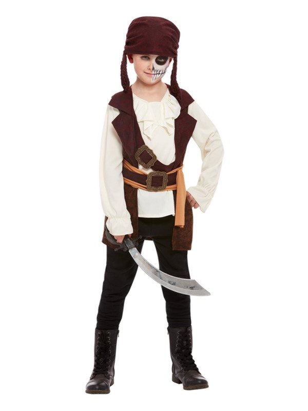 Dark Spirit Pirate Boy Kinderkostuum