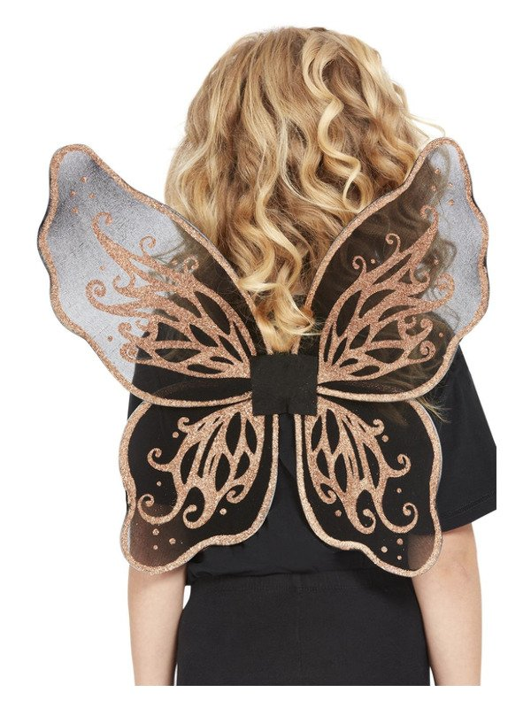 Dark Botanicals Butterfly Wings, Goud
