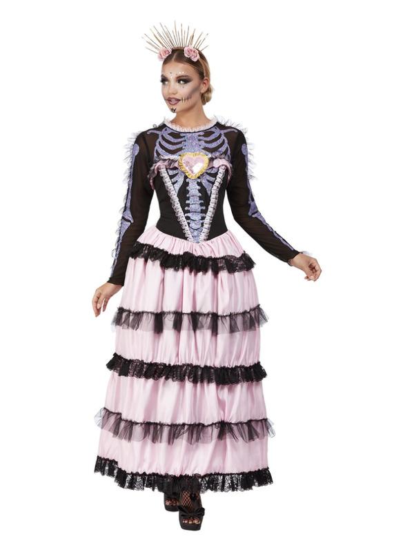 Deluxe Day of the Dead Senorita Kostuum