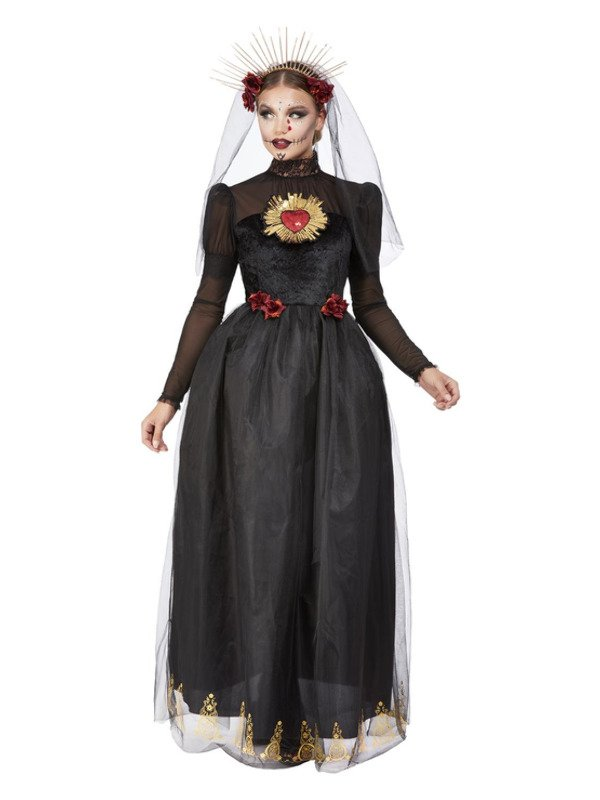 Deluxe Day if the Dead Sacred Heart Bride Kostuum