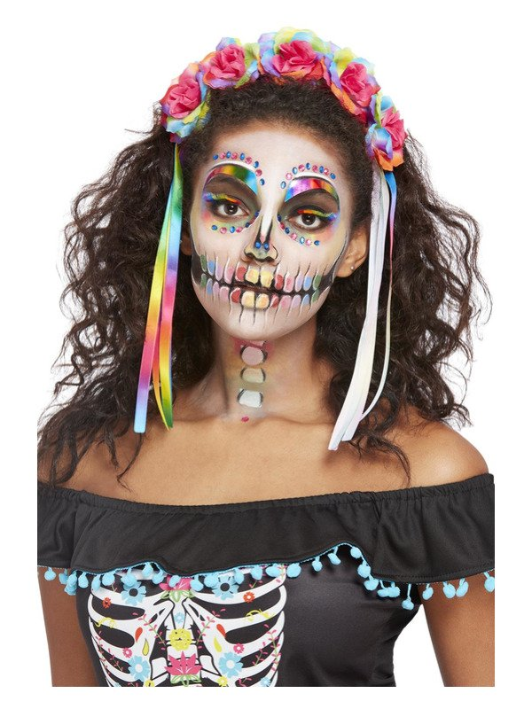 Day of the Dead Make-Up FX, Bright Kit