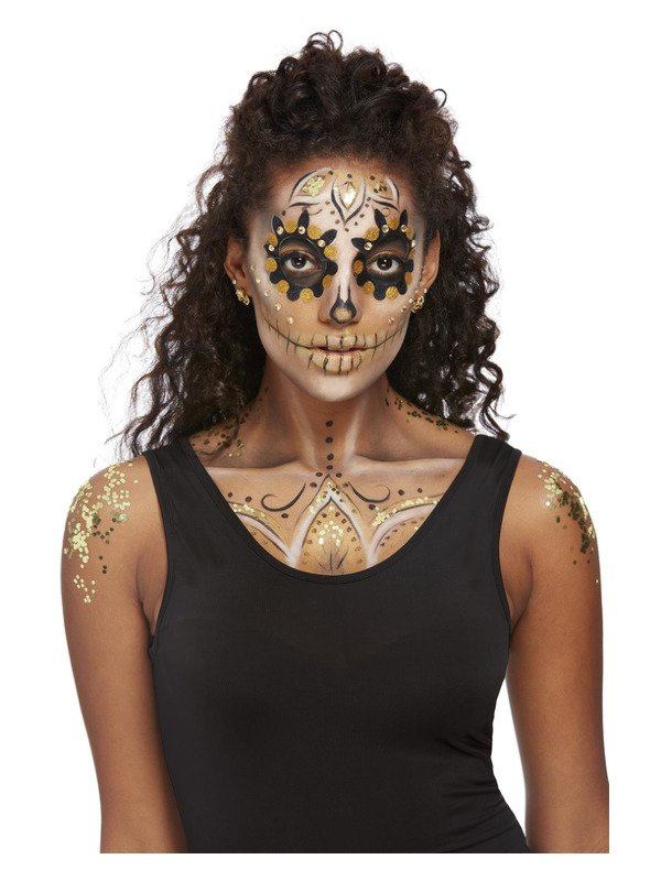 Day of the Dead Make-Up FX, Gold Kit