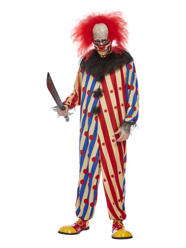 Creepy Clown Heren Kostuum