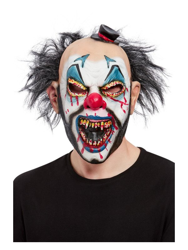 Evil Clown Overhead Masker, Latex