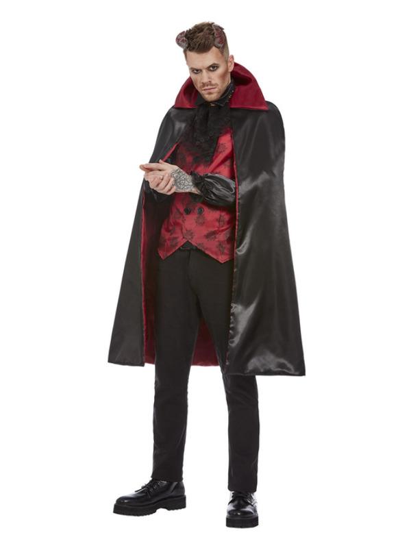 Devil Kostuum, Rood/Zwart