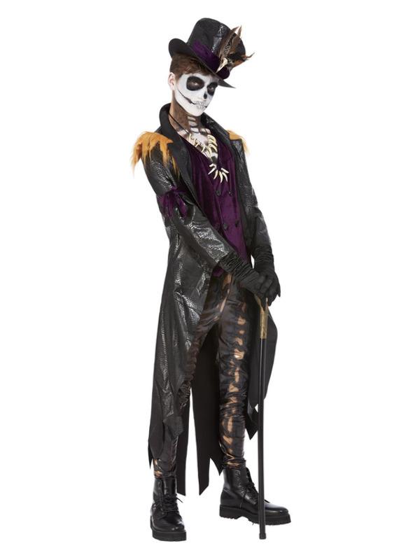 Deluxe Voodoo Witch Doctor Heren Kostuum