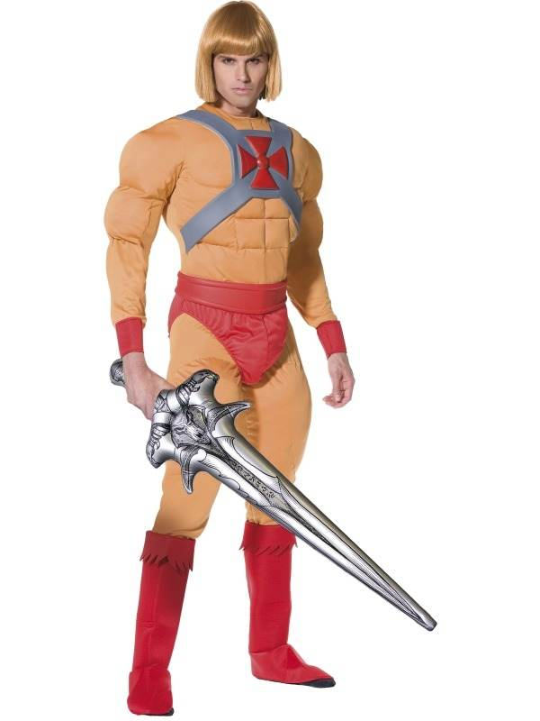 Prince Adam Musclor - He Man en de Masters of the Universe Kostuum