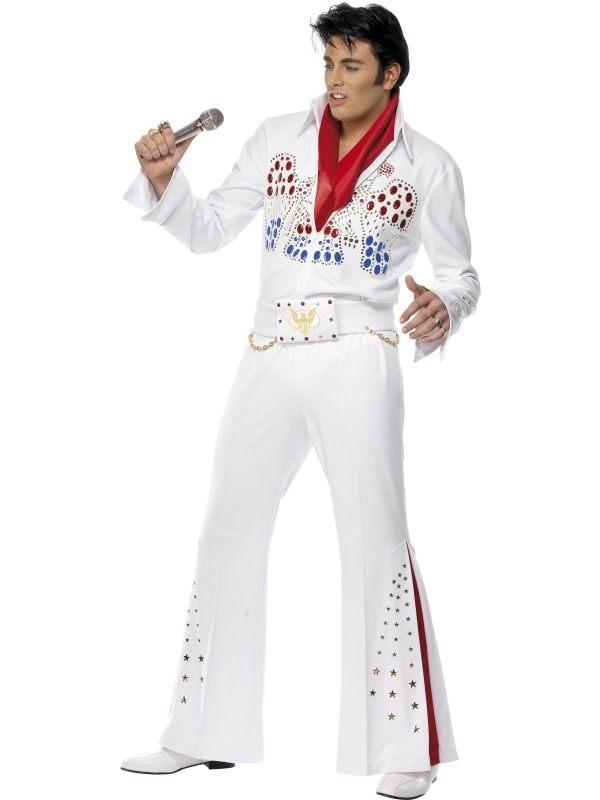 Elvis American Eagle Heren Verkleedkleding