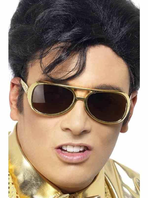 Elvis Gouden Zonnebril