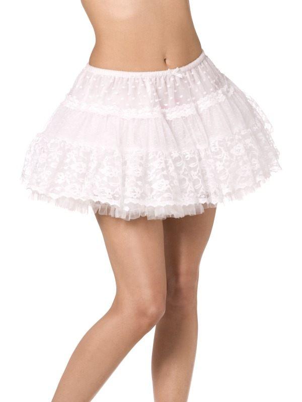 Fever Witte Kanten Petticoat