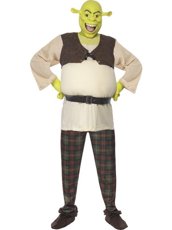 Shrek Heren Verkleedkleding