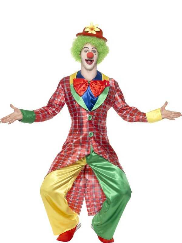 La Circus Deluxe Clown kostuum