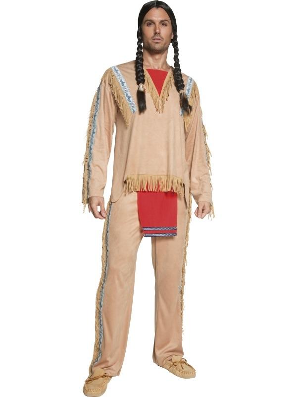 Western Indianen Opperhoofd Kostuum