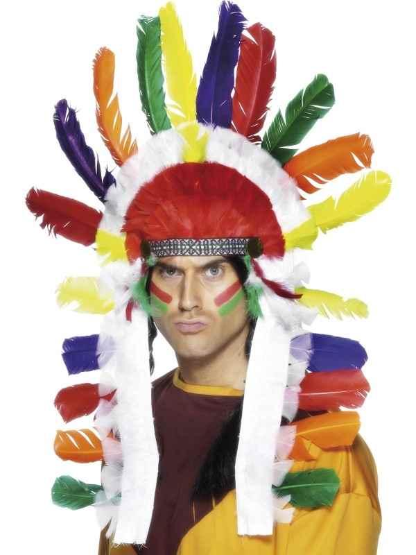 Gekleurde Opperhoofd Indianentooi
