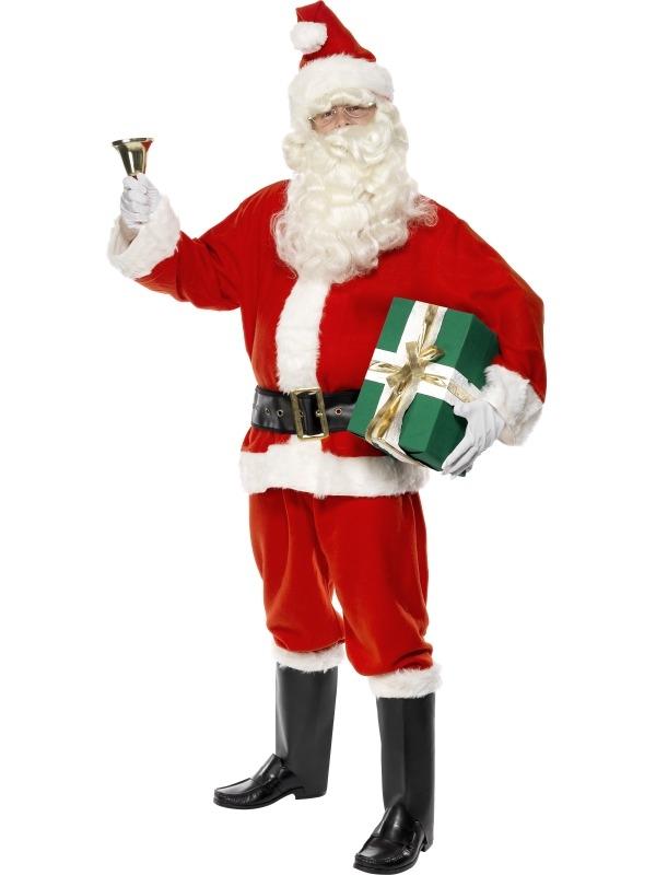 Deluxe Kerstman Kostuum 6-delig