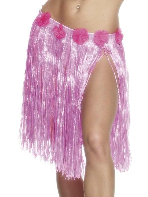 Roze Hawaii Grasrokje