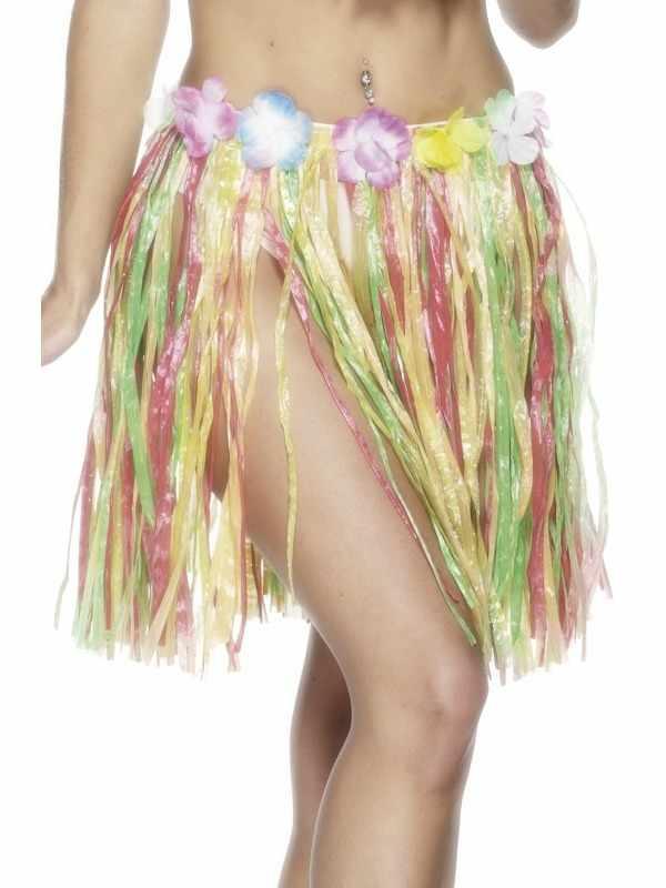 Hawaii Gekleurde Grasrok