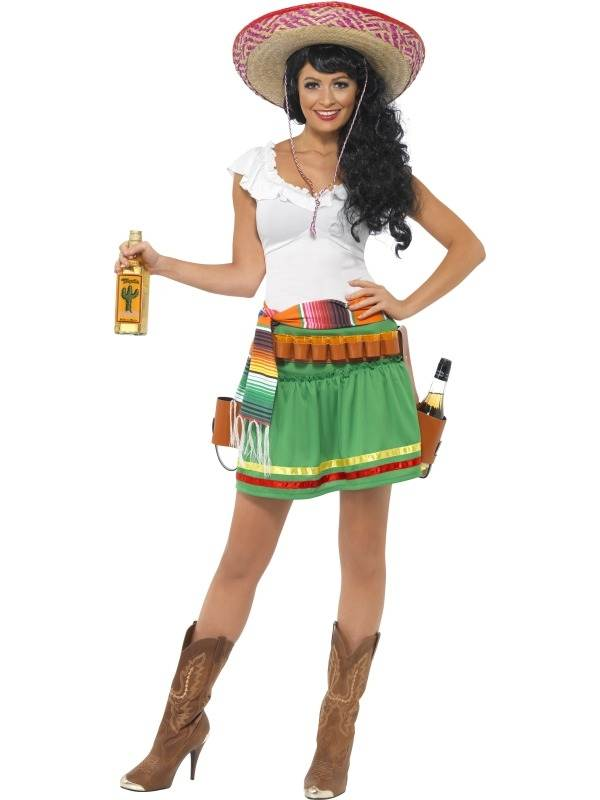 Tequila Shooter Dames Kostuum