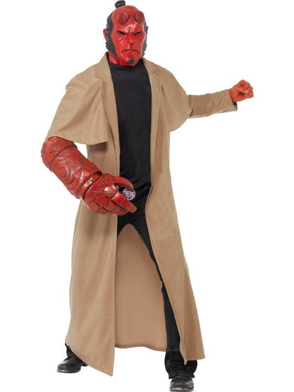 Hellboy Heren Verkleedkleding