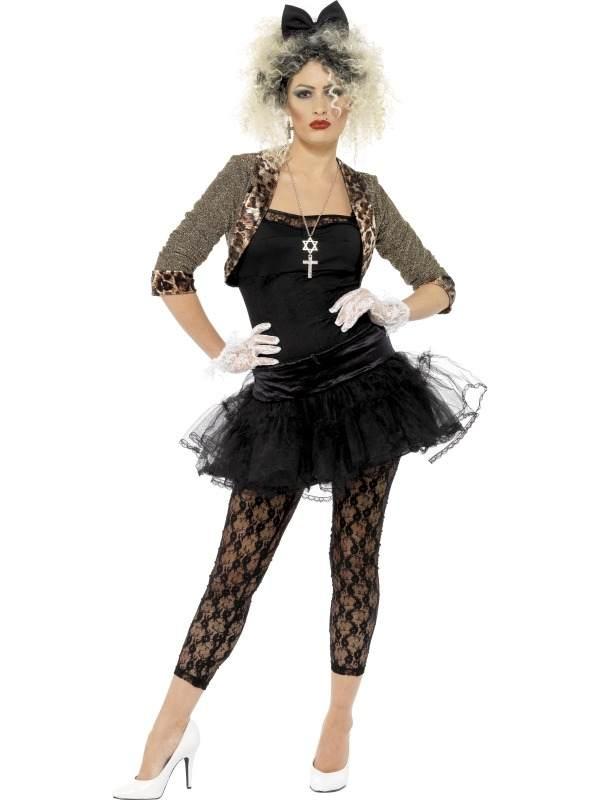 80s Wild Child Madonna Compleet Kostuum