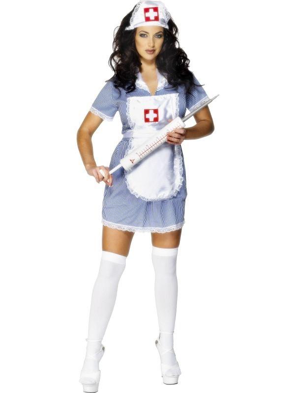 Naughty Nurse Zuster Kostuum