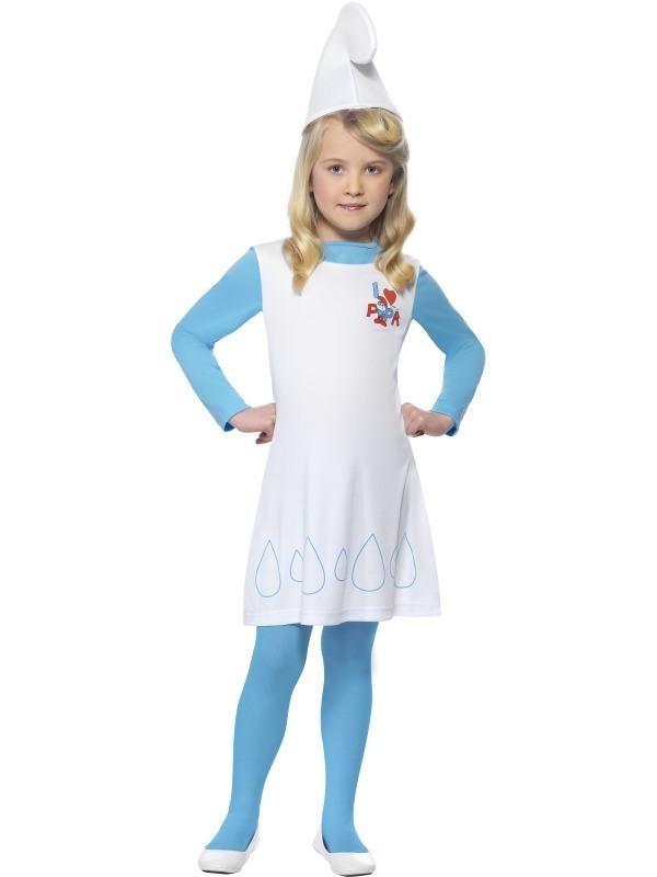 Smurfin Meisjes Verkleedkleding