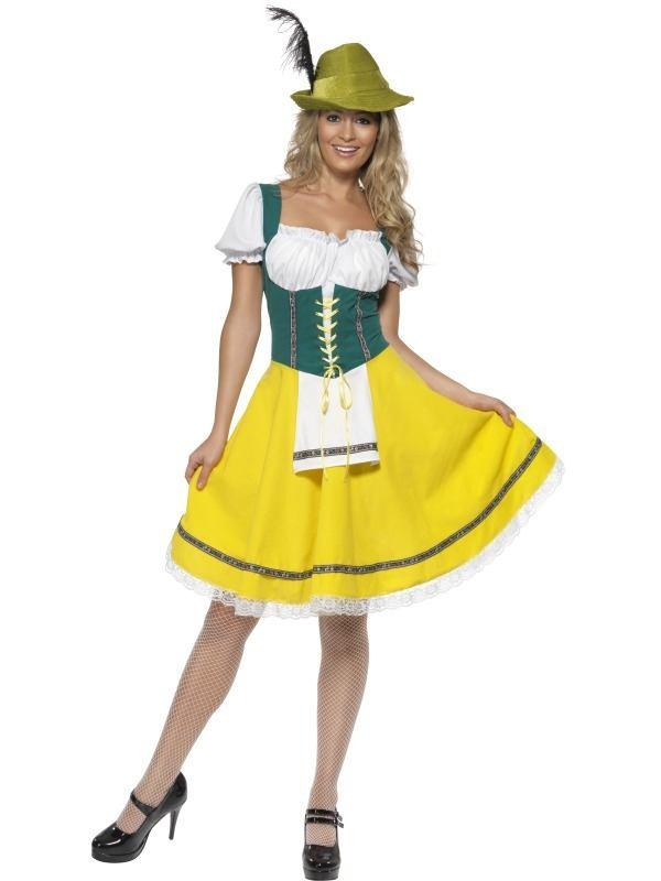 Oktoberfest Duits Biermeisje Kostuum
