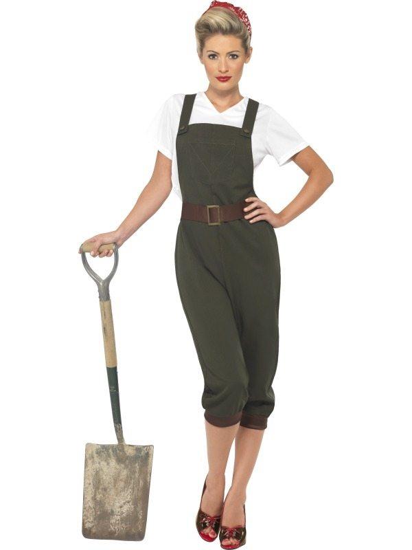 WW2 Land Girl Dames Kostuum