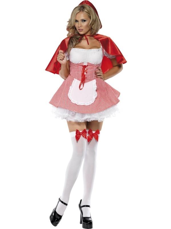 Roodkapje Dames Kostuum