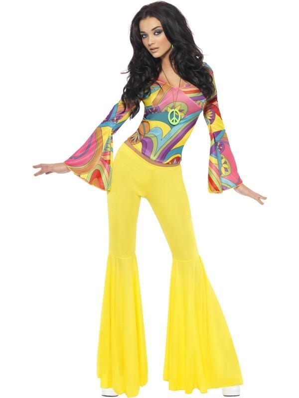 Fever 1970s Groovy Babe Kostuum