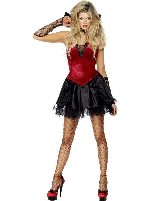Fever Vixen Vamp Vampieren Kostuum