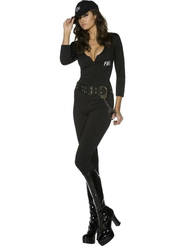 Fever FBI Flirt Dames Kostuum
