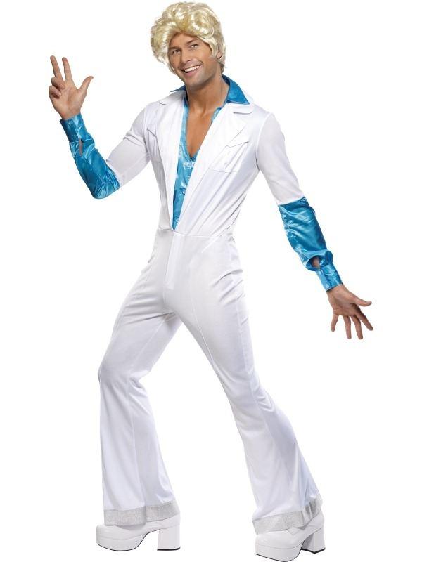 Disco Man 1970's Heren Kostuum