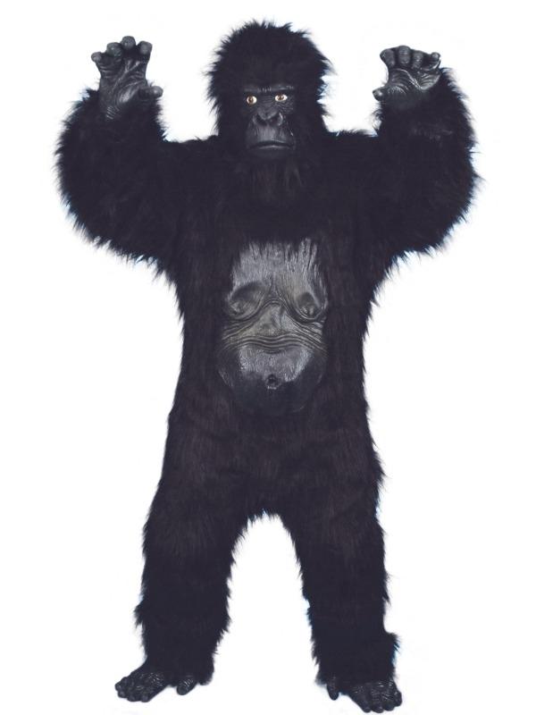 Gorilla Deluxe Heren Verkleedkleding