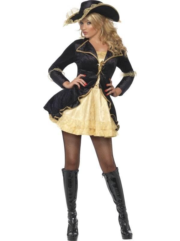 Fever Piraten Dames Kostuum