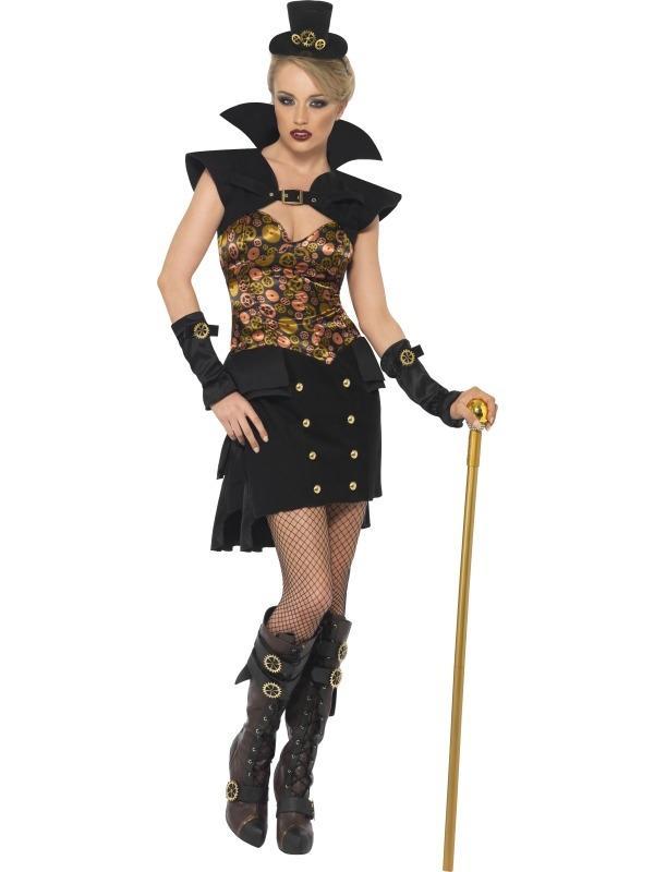 Steam Punk Victorian Vampieren Kostuum