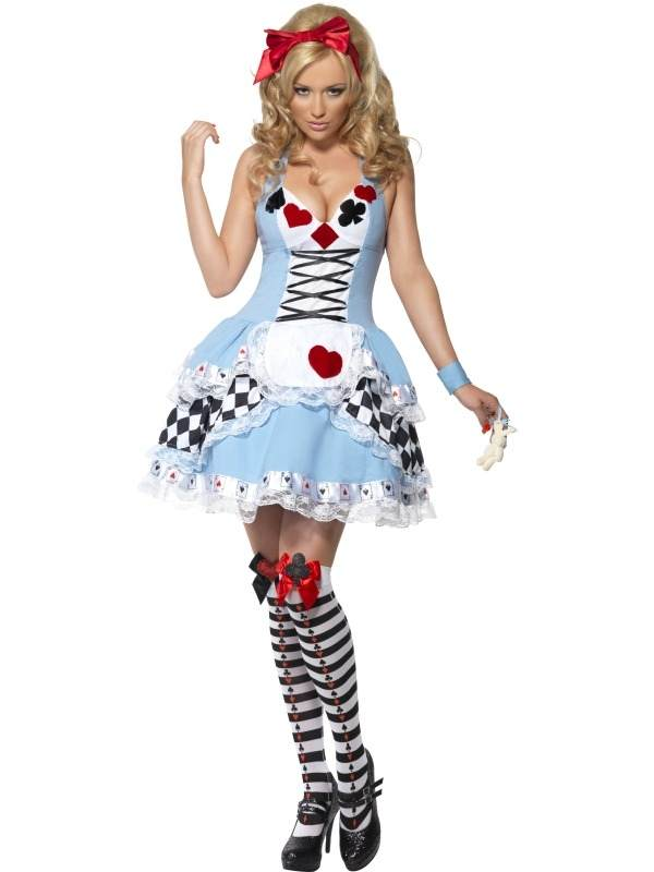 Alice in Wonderland Verkleedkleding