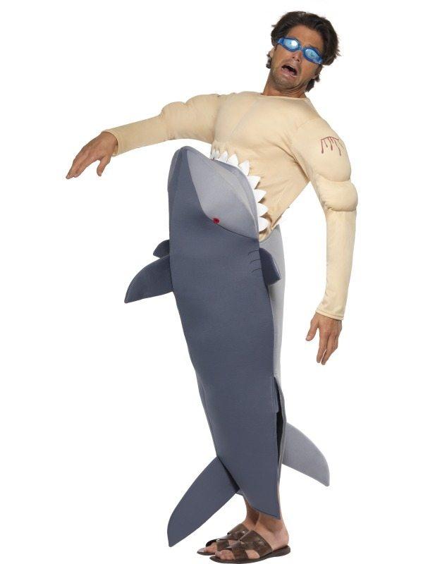 Man wordt opgegeten door Haai Verkleedkleding