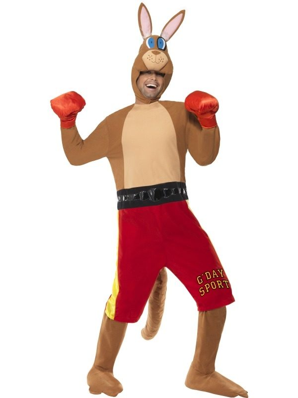 Kangoeroe Boxer Heren Verkleedkleding