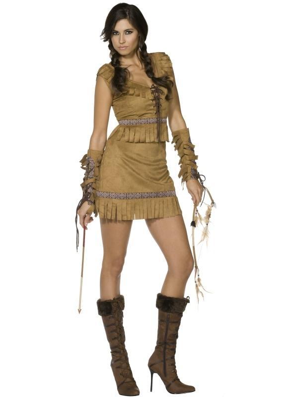 Fever Pocahontas Dames Kostuum