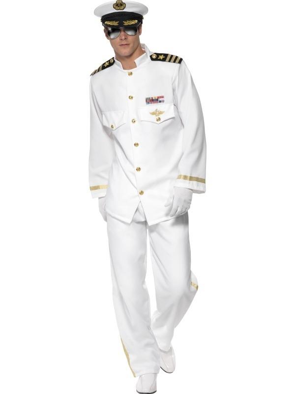 Deluxe Kapiteinspak Kostuum