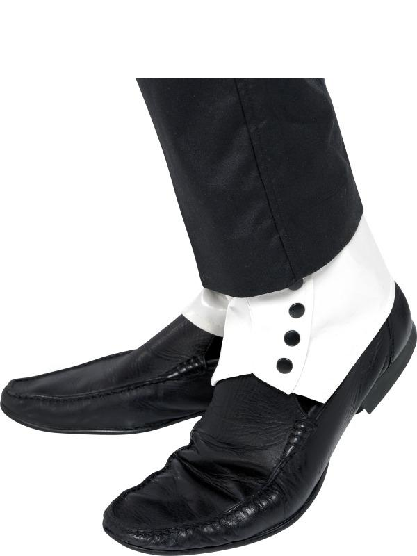 1920 Gangster Witte Spats