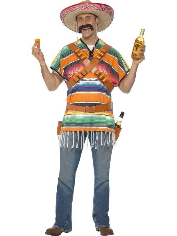 Tequila Shooter Guy Heren Verkleedkleding