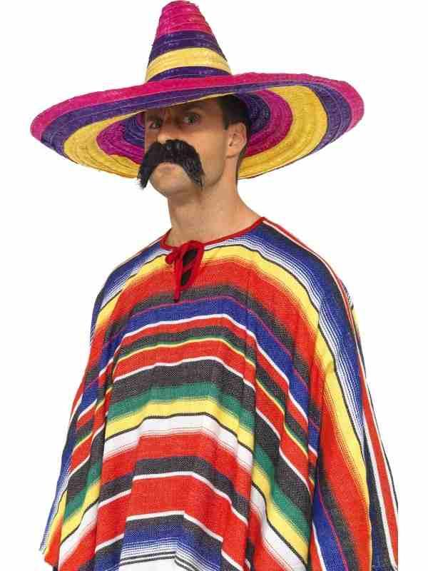Grote Gekleurde Sombrero